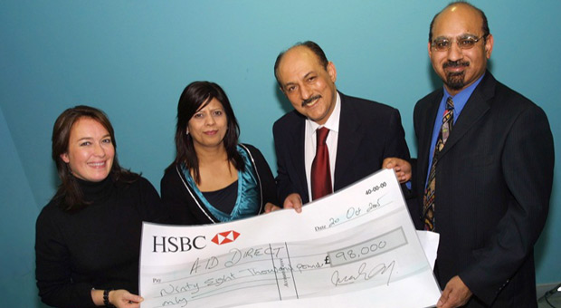 Aid Direct Cheque