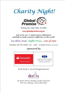 Global Promise 7th Anniversary Celebrations